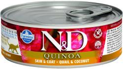 Farmina N&D Adult Quinoa Skin&Coat quail & coconut tin 80g