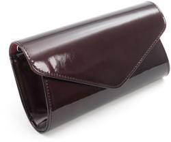 Real Leather Plic butoias cu colt visiniu