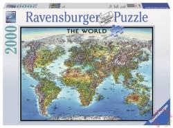 Ravensburger Világtérkép 2000 db-os (16683)