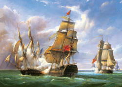 Castorland P. J. Gilbert: A csata, 1806 3000 db-os (C-300037)