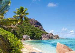 Castorland Trópusi tengerpart, Seychelle-szigetek 3000 db-os (C-300228)