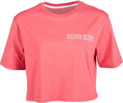 Calvin Klein CROPPED SHORT SLEEVE T-SHIRT dama roz S