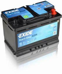 Exide Start Stop AGM 70Ah 760A right+ EK700