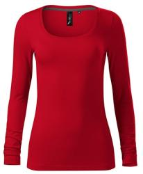 Adler (MALFINI) Női hosszú ujjú póló Brave - Élénk piros - XL (1567116)
