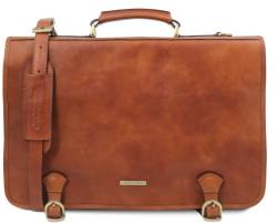 Мъжко кожено куфарче ancona tl142073 tuscany leather