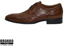 KLEER 357-9-f9 barna fűzős alkalmi félcipő