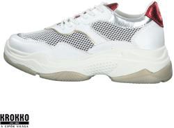 s. Oliver 005-23635-34-110 fehér fűzős sneaker sportcipő