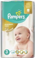 Pampers Premium Care 3 Midi (4-9kg) 60db