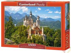 Castorland Neuschwanstein kastély, Németország 1500 db-os (C-151424)