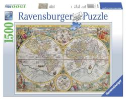 Ravensburger Harta Lumii Vedere Din Satelit 1500 Puzzle