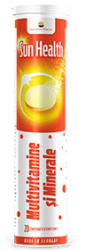 Sun Wave Pharma Sun Health Multivitamine si Minerale - 20 cpr efervescente