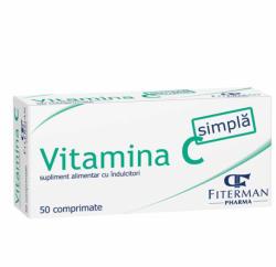 Fiterman Pharma Vitamina C simpla 180 mg - 50 cpr