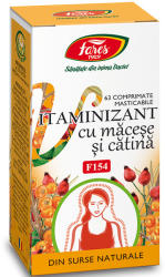 Fares Vitaminizant cu macese si catina, F154 - 63 cpr Fares