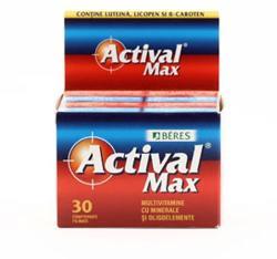 Beres Pharmaceuticals CO Actival Max - 30 cpr - naturisti - 34,00 RON