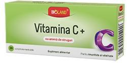 Biofarm Vitamina C Aroma Struguri - 20 cpr