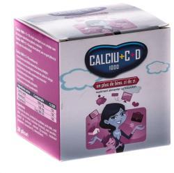 Fiterman Pharma Calciu 1000 + Vitamina C + D - 20 plicuri