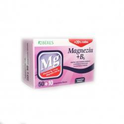 Beres Pharmaceuticals CO Magneziu cu B6 * Beres x 50 +10 cpr