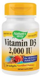 Nature's Way Vitamina D3 2000UI, 30cps, Nature's Way