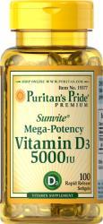 Puritan's Pride Vitamin D3 5000IU 100 Softgels