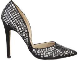 Pantofi cu toc femei V 1969 model YOLANDE, culoare Negru, marime 39 EU