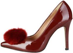 Pantofi cu toc femei V 1969 model MAEVA, culoare Rosu, marime 37 EU