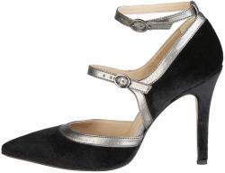 Pantofi cu toc femei V 1969 model GENEVIEVE, culoare Negru, marime 38 EU