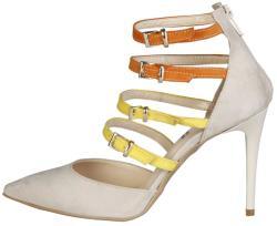 Pantofi cu toc femei V 1969 model SELINE, culoare Maro, marime 39 EU
