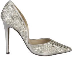Pantofi cu toc femei V 1969 model YOLANDE, culoare Galben, marime 41 EU