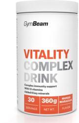 GymBeam Vitality Complex Drink 360 g măr verde