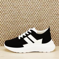 SOFILINE Sneakers alb negru Calista (2028 BLACK -39)