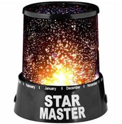 Lampa proiector Star Master cu stelute colorate - evoplus