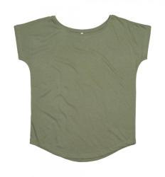 Mantis Női rövid ujjú póló Mantis Women's Loose Fit T XL, Világos oliva zöld