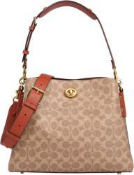 COACH Чанта за през рамо 'Willow' бежово, червено, размер One Size