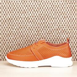 SOFILINE Pantofi piele naturala portocalii Angela (5065 ORANGE -39)