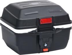 vidaXL Горен куфар за мотор, 24 л, за една каска (150673)
