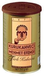 Mehmet Efendi Cafea macinata Mehmet Efendi, cutie metalica, 250 grame