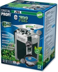 JBL CristalProfi e702 greenlinegreenline - Енергоспестяващ външен филтър за аквариуми от 60л до 200 л или 60 до 100см дължина - 180 х 200 х 350 мм