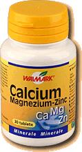 Walmark Calciu Magneziu Zinc X 100 drajeuri Walmark