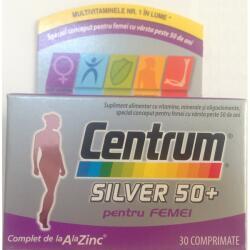 Pfizer Centrum Silver 50+ femei x 30 cpr, Pfizer