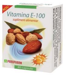 Parapharm Vitamina E 100 x 40 cps