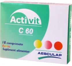 Ropharma Activit C 100mg exotic x 18cpr