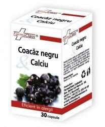 FarmaClass Coacaz Negru & Calciu 30cps