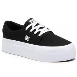 DC Shoes Tenisi femei DC Shoes Trase Platform ADJS300269-BKW (ADJS300269-BKW)