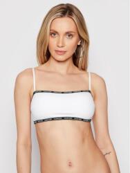 Calvin Klein Bikini partea de sus Bandeau KW0KW01274 Alb