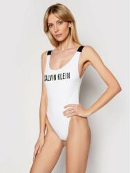 Calvin Klein Costum de baie Scoop Back KW0KW01235 Alb
