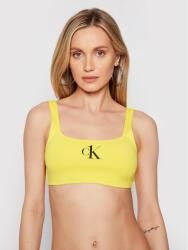 Calvin Klein Bikini partea de sus KW0KW01404 Galben