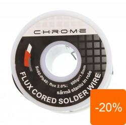 Chrome Fludor 500gr 1.0mm Chrome (TIN-500GR/1.0MM-CHR)