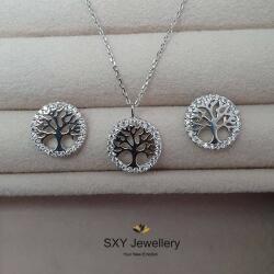 """SXY Jewellery Дамски сребърен комплект """"Дървото на живота """"   sb5741"""