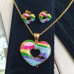 SXY Jewellery Комплект бижута с емайл   ss1021