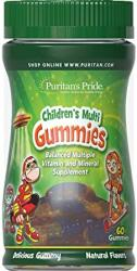Puritan's Pride Children's Multi Gummies 60 Gummies